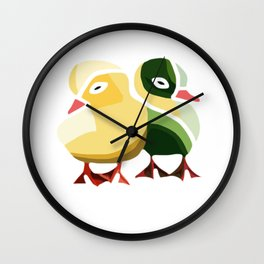 Pato Amarillo Wall Clock