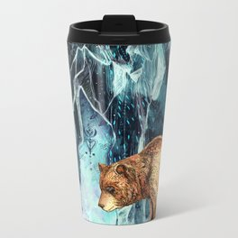 BearCave Metal Travel Mug