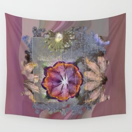 Stickball Au Naturel Flower  ID:16165-150329-07211 Wall Tapestry