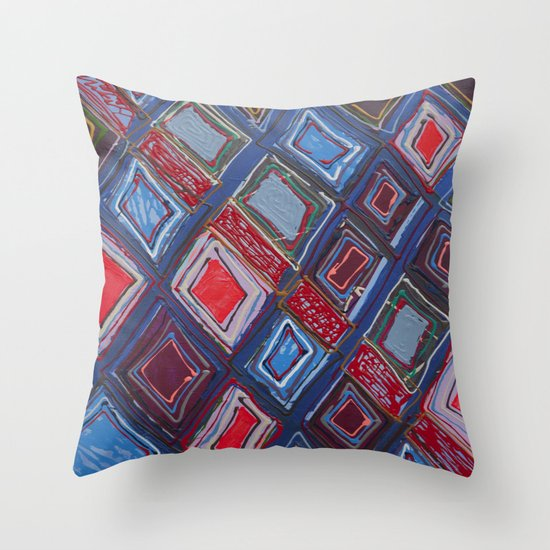 Draper Paper Throw Pillow