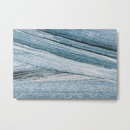 Abstract wood bark watercolor painting #10 Metal Print