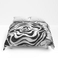 Doodled Rose & Vine Comforters