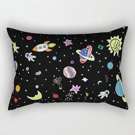 Superhero Space Rectangular Pillow