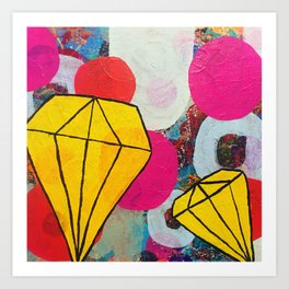 I could give you diamonds Art Print