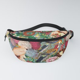 Floral and Animals pattern Fanny Pack