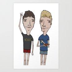Band Guys Art Print