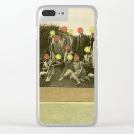 Oranges Group Clear iPhone Case