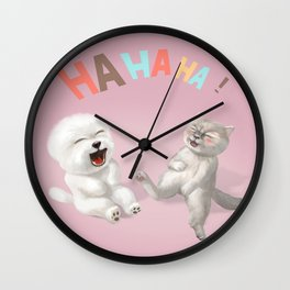Happy Together Wall Clock