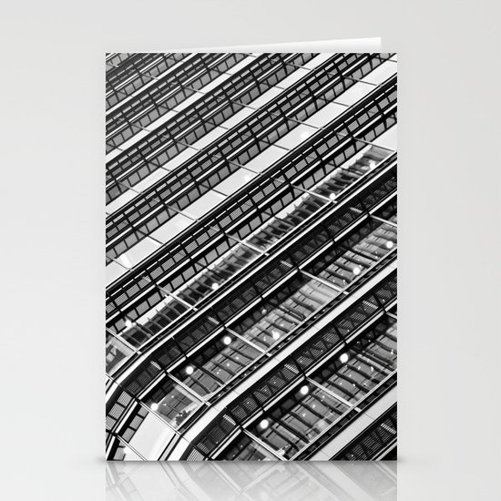 Canary Wharf  Abstract Stationery Cards