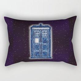 Filigree TARDIS Rectangular Pillow