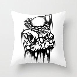 Catatomic Throw Pillow