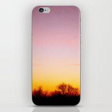 Rosey Morning Sky iPhone & iPod Skin