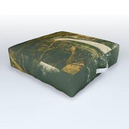 Hidden Waterfall Outdoor Floor Cushion