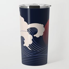 Japanese Sunset Travel Mug