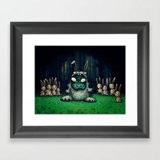 faux lapin Framed Art Print