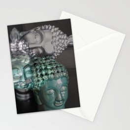 Scattered Buddhas Stationery Cards