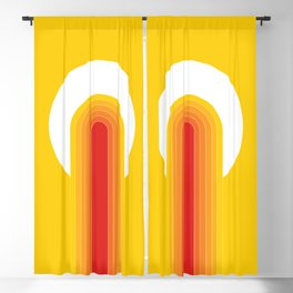 Desert Blaze Blackout Curtain