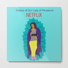Netflix Nuns Metal Print