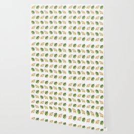 Tropical Summer Pattern Wallpaper