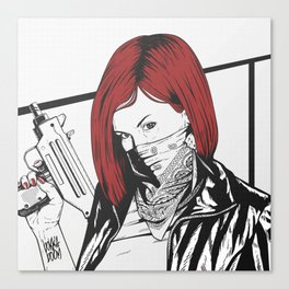 Redheads do it better ;) Canvas Print