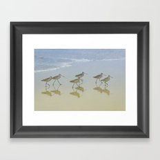 When the saints go marching in Framed Art Print