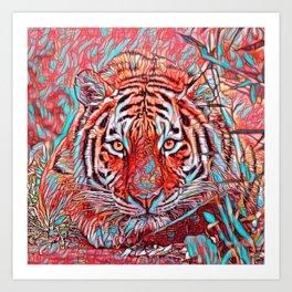 ColorMix Tiger 1 Art Print