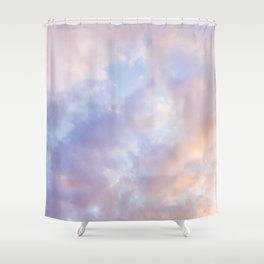 Pink sky / Photo of heavenly sky Shower Curtain