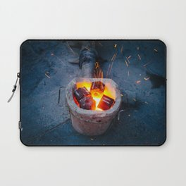 controlled burn Laptop Sleeve