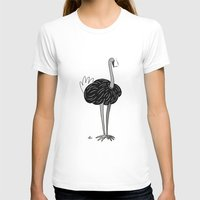 ostrich T-shirts featuring Ostrich? by Annadiplosis