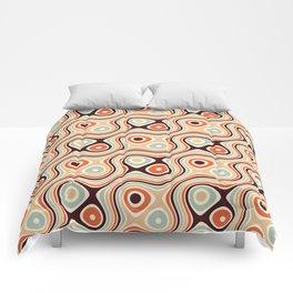 Retro Psychedelic Comforters