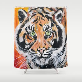 Tiger, Tiger Shower Curtain