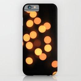 Blurred Lights iPhone Case