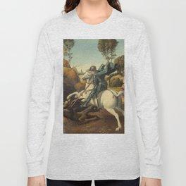 Saint George and the Dragon Long Sleeve T-shirt