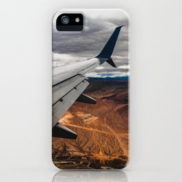 wing over mars iPhone Case
