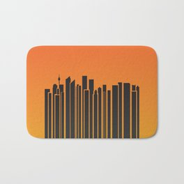 Sydney City Barcode Bath Mat