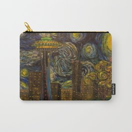 Dedication to Van Gogh: Seattle Starry Night Carry-All Pouch