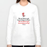 dr seuss Long Sleeve T-shirts featuring The Dr.'s Advice. by Travellustrator