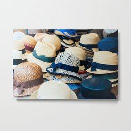 Hats! Metal Print