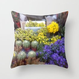 Springy Throw Pillow