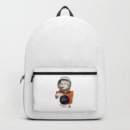 Yuri Gagarin. Space day. Backpack