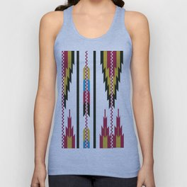 American Native Pattern No. 42 Unisex Tank Top