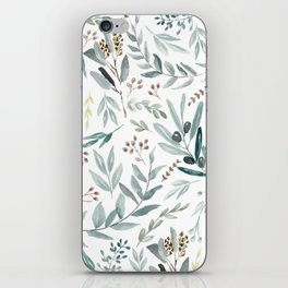 Eucalyptus pattern iPhone Skin