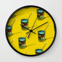 The Booze-o-meter Wall Clock
