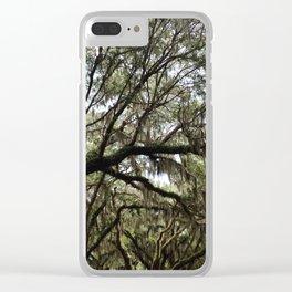 saint simons Clear iPhone Case