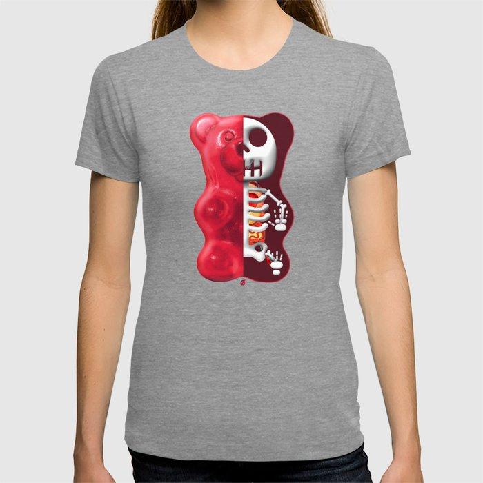 GUMMY BEAR ANATOMY T-shirt by notordinary | Society6