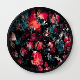Dream Splatter Wall Clock