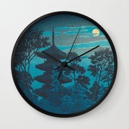 Hasui Kawase 川瀬 巴水  Wall Clock