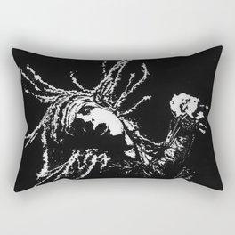 Punk Rocker Rectangular Pillow