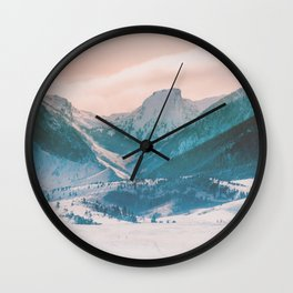 Keep Your Face to the Sun Wall Clock
