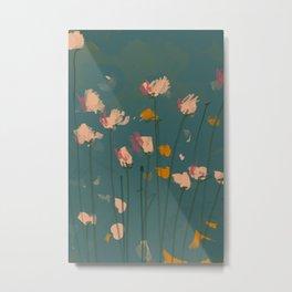 A Field Of Flowers Bloom Metal Print